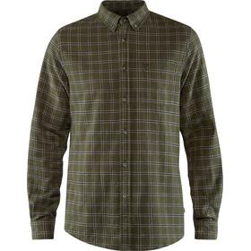 Fjällräven Övik Flannel Shirt Men deep forest